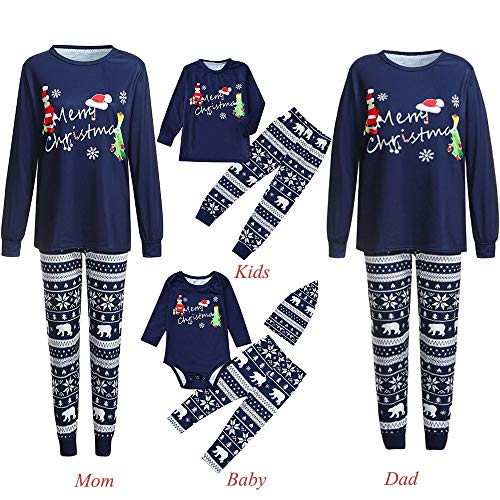 b9deb76155 Mumustar Family Christmas Pajamas Set 2PC Red Plaid Spleepwear Winter  Nightwear ...