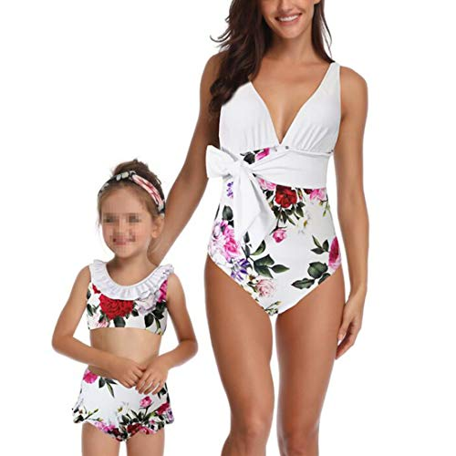 f60c70e36c261 Family Matching Swimsuit Mother Daughter Matching Swimwear ...